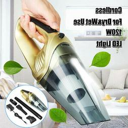 120W 4in1 Handheld Cordless Vacuum Cleaner For Car Home Wet