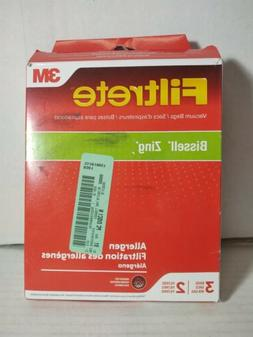 3 New Bissell Zing 22Q3 Vacuum Cleaner Bags