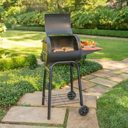 Charcoal Grill Patio Pro Heavy Gauge Steel Cast Iron Cooking