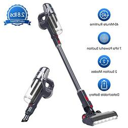 NOVETE Cordless Stick Vacuum Cleaner, Ultralight 2-in-1 Clea