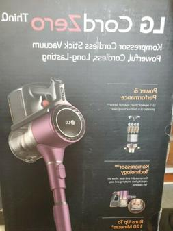 LG CordZero Think  Cordless Stick Vacuum Cleaner Purple Colo