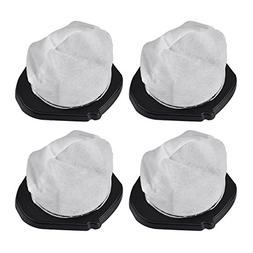 KEEPOW 4 Pack Dust Cup Filters for Shark Cordless Hand Vac S