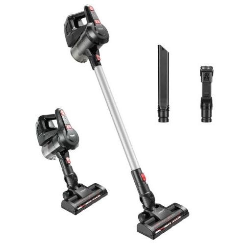 Cordless Stick Vacuum Cleaner With 5 Attachment Wall-Mount F