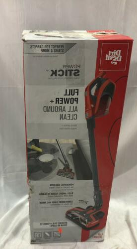 Corded Stick Vacuum Power Stick Cleaner Floor Care Car Works