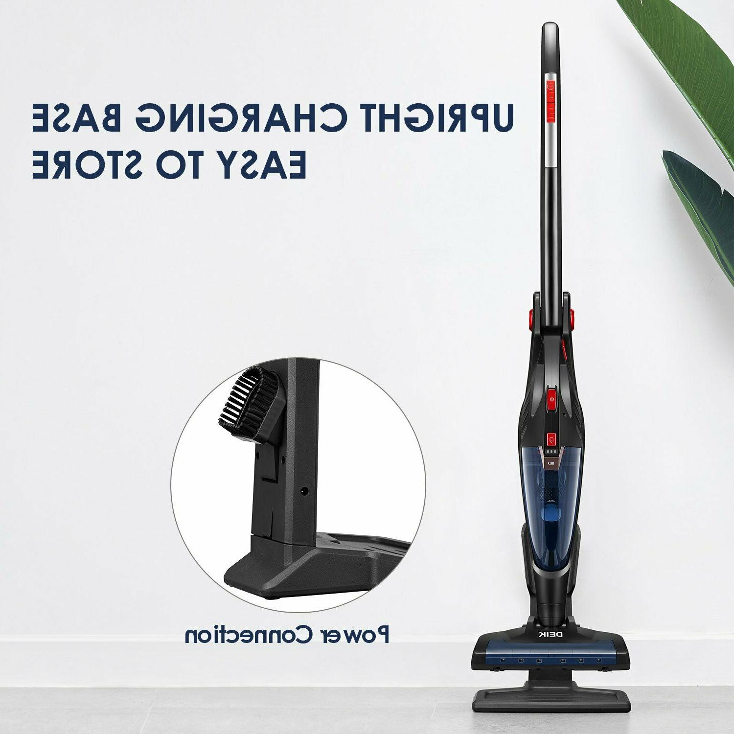 Deik Cordless 1 Vacuum 8000PA Lightweight Rechargeable