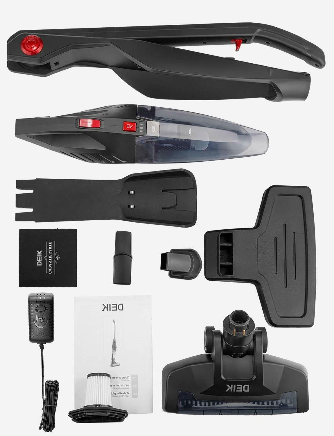 DEIK Cordless Rechargeable Lightweight Foldable 2in1