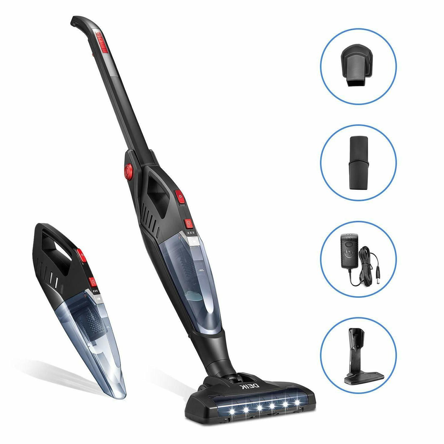 cordless vacuum cleaner rechargeable stick lightweight folda