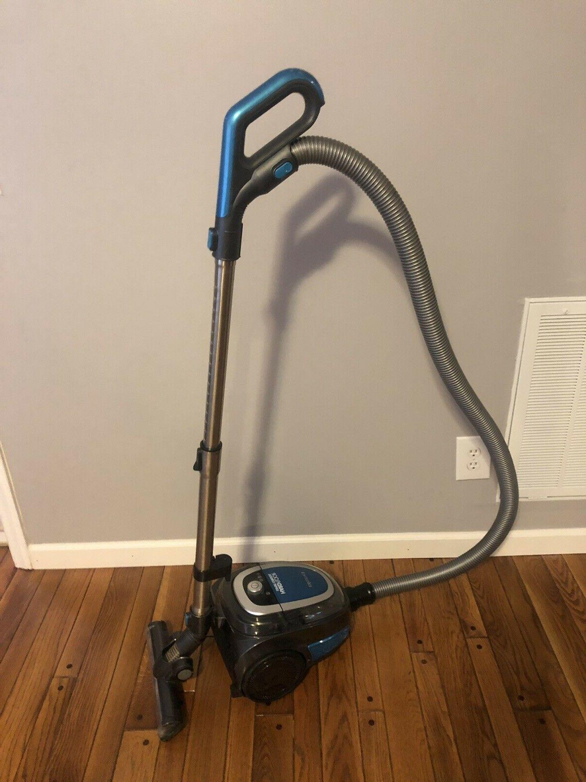 hard floor cordless canister vacuum working no
