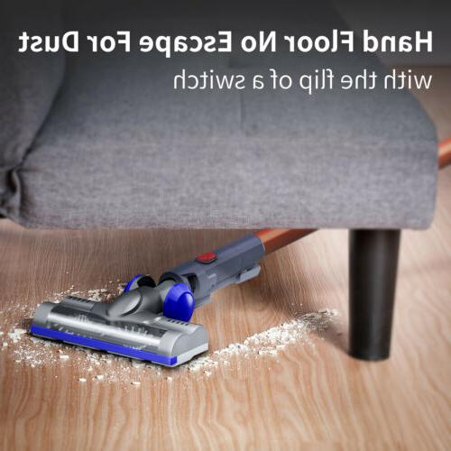 2-In-1 Cordless Stick Cleaner 18Kpa Suction
