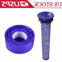 Pre + Post Filter Replacement for Dyson V7 V8 Cordless Vacuu