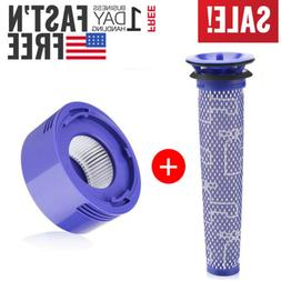 Replacement Pre & Post Motor Hepa Filter For Dyson V7 V8 Ani