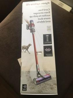 Dyson V10 Cyclone Motorhead Red Cordless Stick Vacuum Cleane
