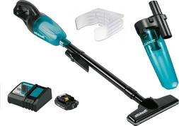 Makita XLC02ZB 18V LXT Lithium-Ion Cordless Vacuum Tool Only